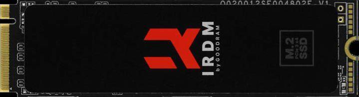 Dysk SSD GOODRAM IRDM 2TB PCIe M.2 2280 NVMe gen 3 x4 (3200 3000)