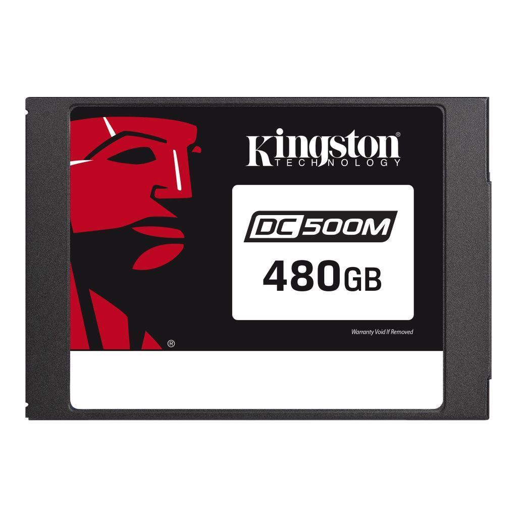 Dysk SSD Kingston Data Center DC500M SSD SATA3 2,5'' 480GB, R W 555MBs 520MBs