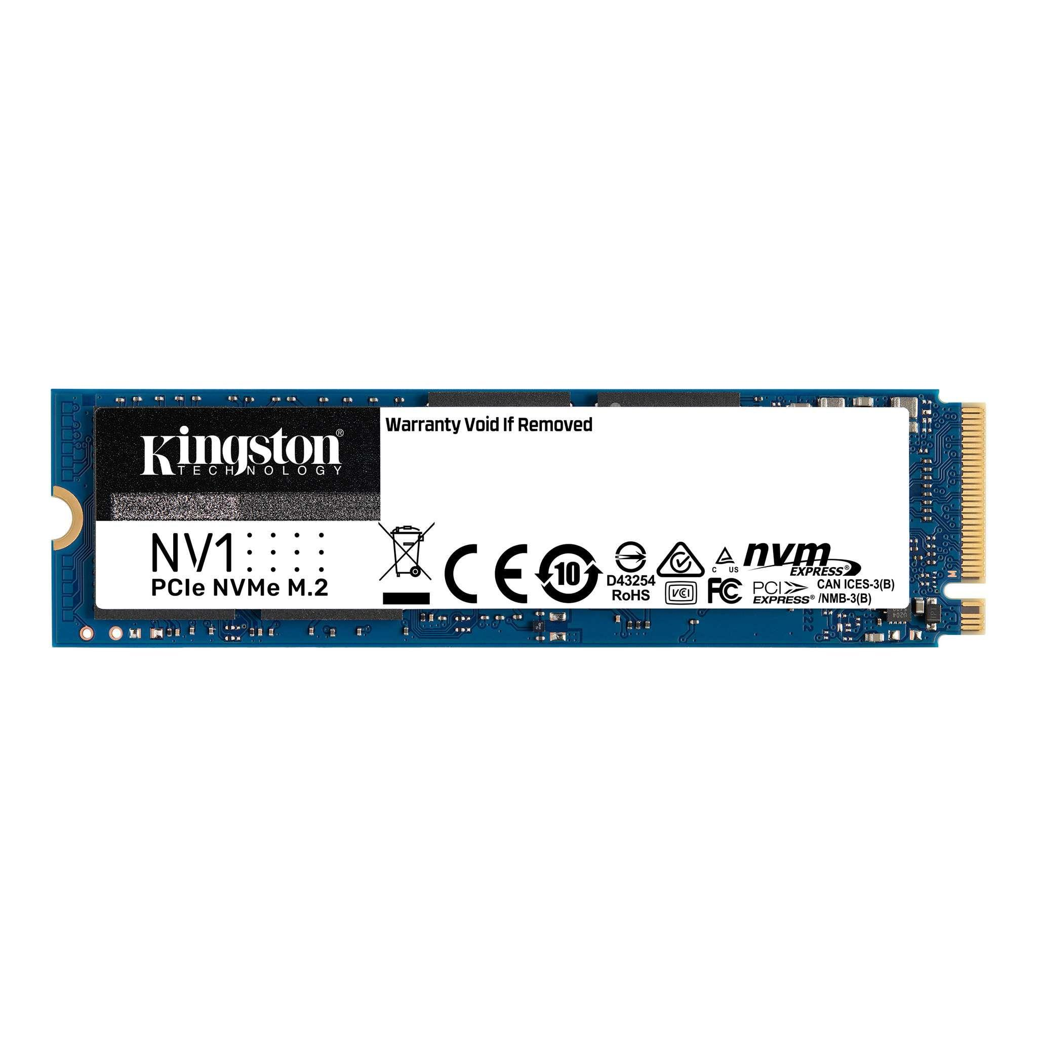 Dysk SSD Kingston NV1 500GB M.2 NVMe PCIe Gen 3.0 x4 (2100 1700 MB s) 2280