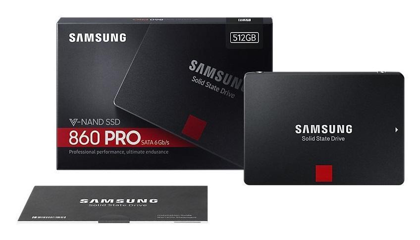 "Dysk SSD Samsung 860 PRO 512GB 2,5"" SATA3 (560 530) MZ-76P512B EU"