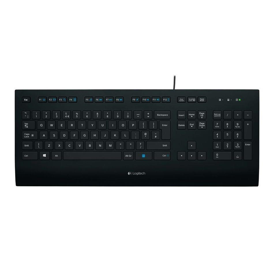 Klawiatura przewodowa Logitech K280e BUSINESS USB OEM czarna (1)