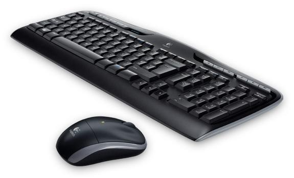 Zestaw bezprzewodowy klawiatura + mysz Logitech MK330 czarny (1)