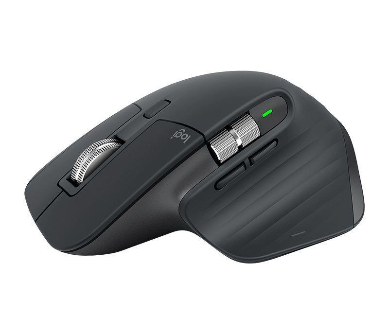 Mysz bezprzewodowa Logitech MX Master 3 laserowa szara