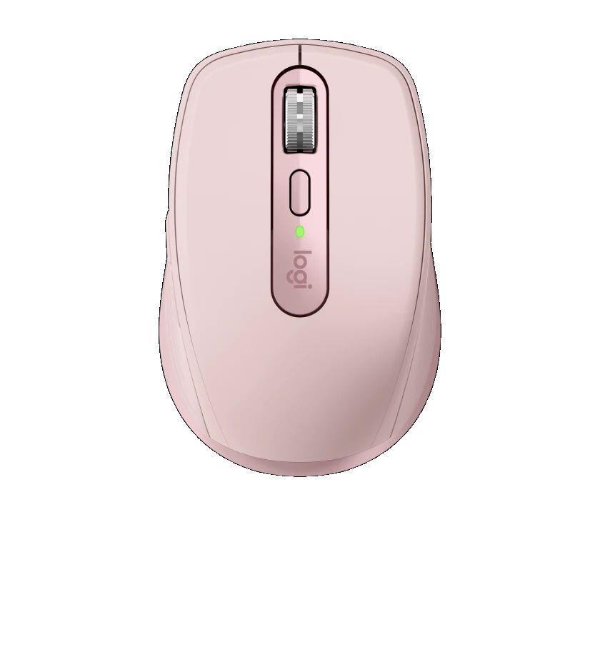 Mysz bezprzewodowa Logitech MX ANYWHERE 3 laserowa różowa