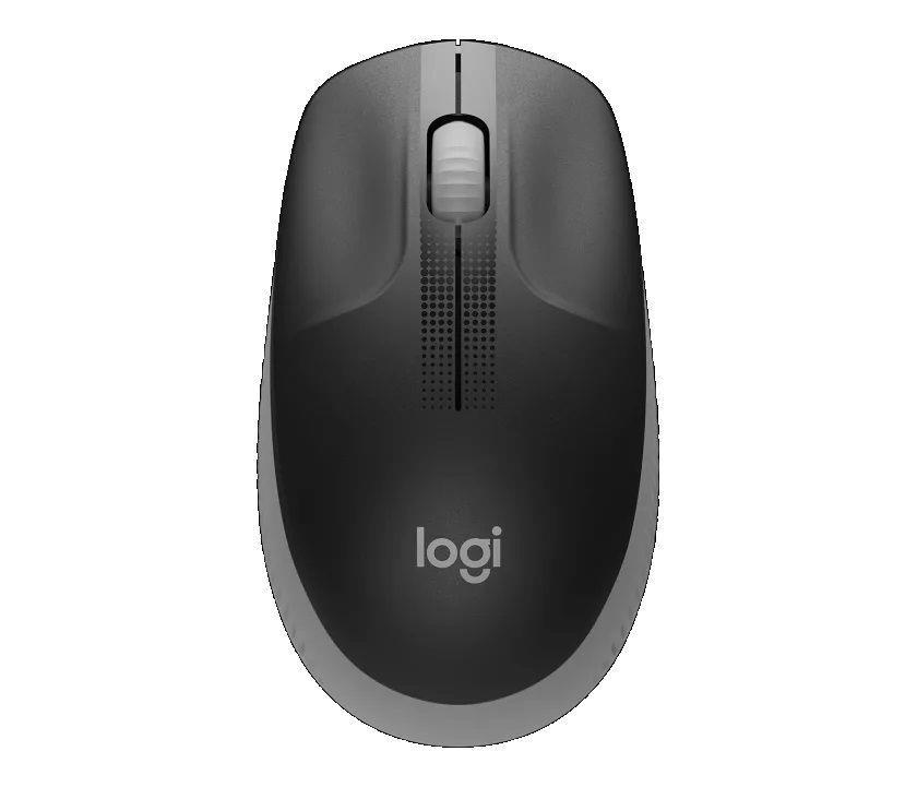 Mysz bezprzewodowa Logitech M190 optyczna szara