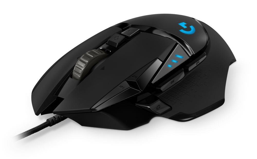 Mysz przewodowa Logitech G502 HERO optyczna Gaming USB czarna
